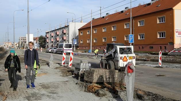 Dlouhá ulice (Lobzy) rekonstrukce