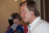 V delegaci k filmu Proměny byl na festivalu Finále v Plzni i jeho producent Karel Roden