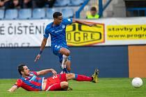 Na konci loňských prázdnin přispěl Jhon Mosquera dvěma góly k porážce Viktorie v Liberci 1:4.