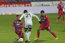 Fotbalisté Viktorie Plzeň prohráli doma s Karvinou 0:1.