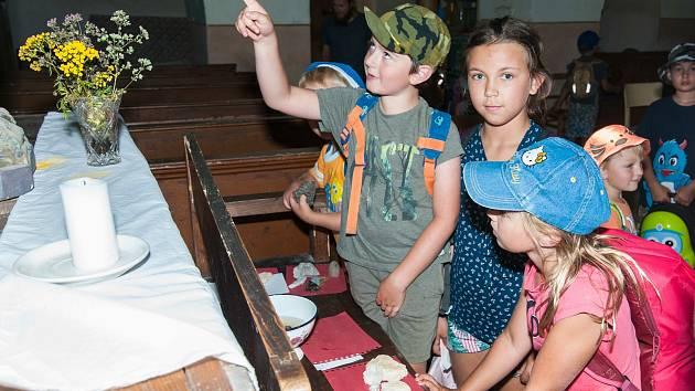 Plzeň, Druztová, Geologická přednáška pro děti