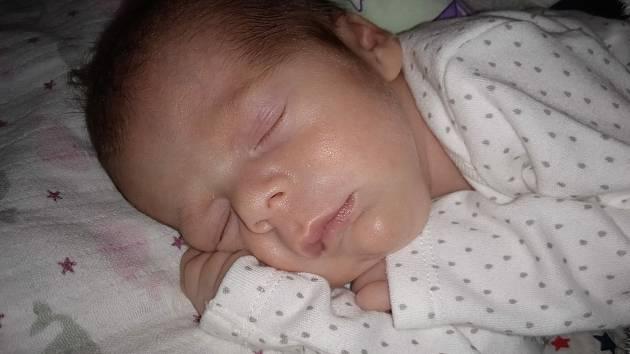 Matyáš Suda z Chudenic se narodil v klatovské porodnici 16. září v 8:25 hodin rodičům Lucii a Miroslavovi. Na malého brášku se těšila Vanesska (4).