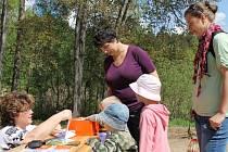 Děti po zdolání čtyřkilometrové trasy dostaly nejen pamětní list, ale mohly si vybrat i drobnou odměnu