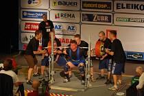 Zoltán Kanát vyhrál na ME v kategorii do 110 kg soutěž v dřepu, kdy si poradil s činkou o váze 310 kilogramů