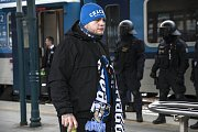 Fanoušci FC Baník Ostrava v Plzni