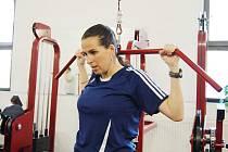 Fotbalová rozhodčí Dagmar Damková ještě den před odletem na mistrovství  světa žen do Německa tvrdě trénovala