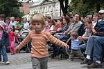 Festival Na ulici - vystoupení B.A.M. U branky