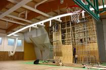 Sportovní hala na Slovanech je před otevřením