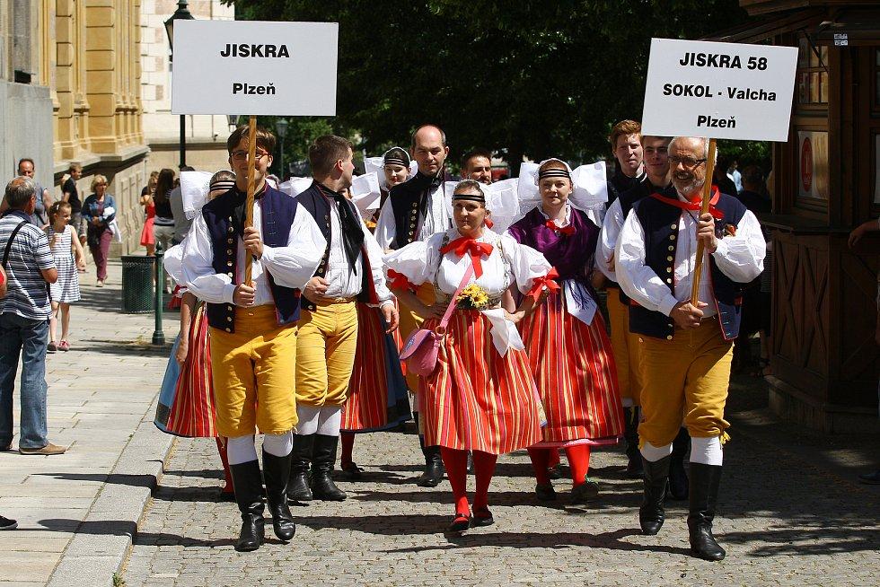 Folklórní festival CIOFF Plzeň 2019.