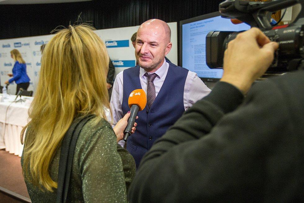 Setkání s hejtmanem v Plzni