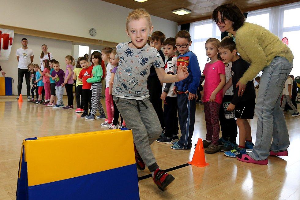 Sportovní hry rozhýbou stovky dětí.