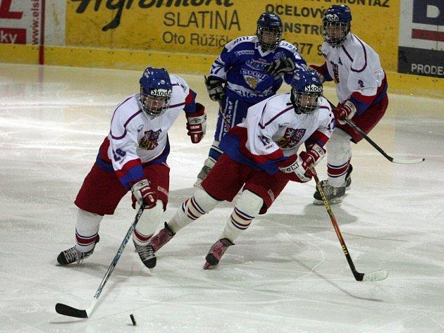 Hokejová sedmnáctka zdolala v Třemošné Finsko