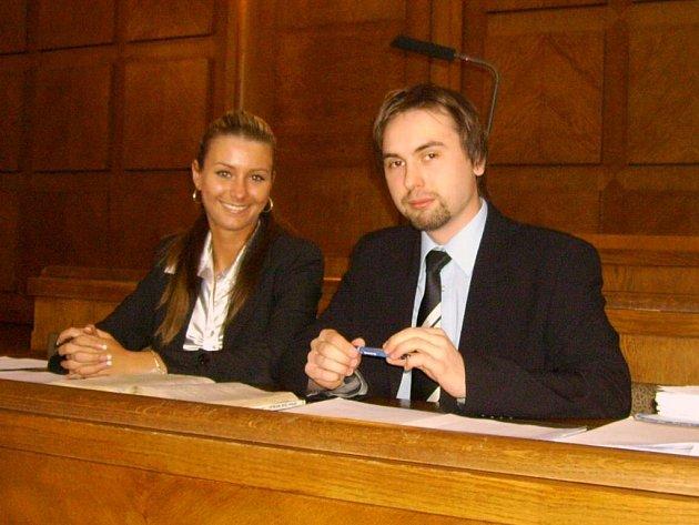 Eva Krieglsteinová a Martin Bugaj porazili i zkušenější studenty