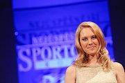 Na salvnostním vyhlášení Sportovce roku zazpívala Kristýna Šebíková