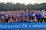 Atleti a atletky Škody Plzeň.