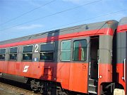 Rakouské vagony budou nasazeny na trati Praha - Plzeň - Cheb