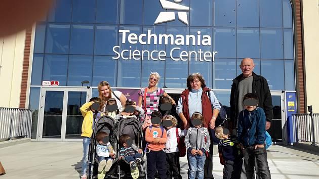 Děti z Klokánku navštívily Techmanii