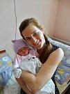 Tereza Košťálová se narodila 31. března v9:45 mamince Janě a tatínkovi Pavlovi zKřimic. Po příchodu na svět vplzeňské FN vážila sestřička tříleté Nelinky 3230 gramů a měřila 50 centimetrů.