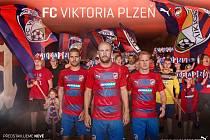 Nové dresy FC Viktoria Plzeň pro sezonu 2016/2017