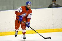 MISTROVSTVÍ HO MINULO. Vladimír Kremláček marně bojoval o účast na mistrovství U20, které se konalo v Kanadě. Vzhledem ke svému věku se ale může pokusit o nominaci i v letošním roce.