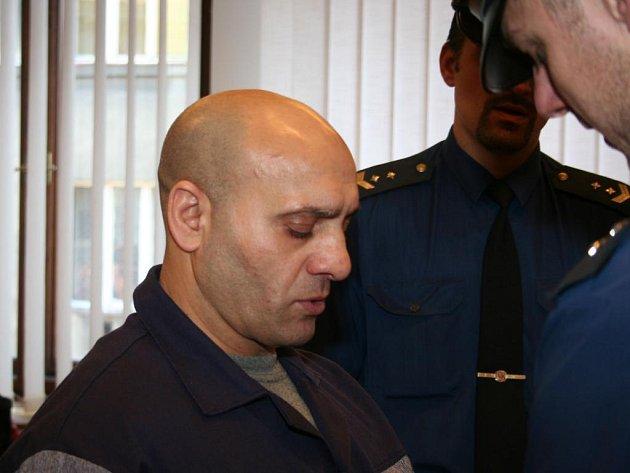 Obžalovaný Ludevít Kováč.