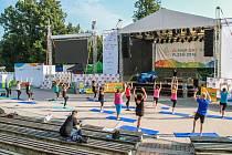 Plzeňský olympijský park za Plazou rozjel cvičení pro veřejnost, které jsme vyzkoušeli.