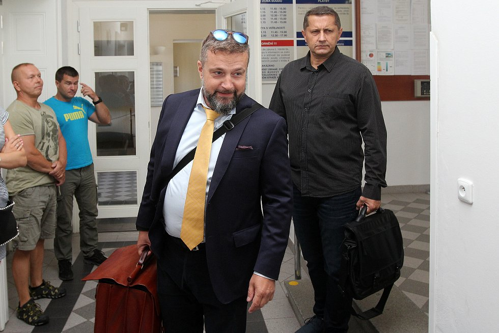 Vladimír Slavotínek u soudu.