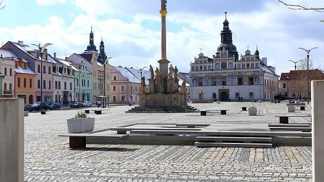 Stříbro - Masarykovo náměstí