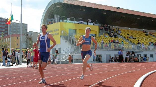Atletický stadion v Plzni