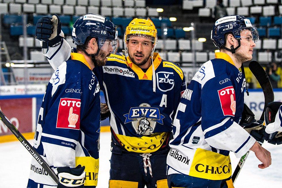 Jan Kovář v dresu Zugu ovládl bodování švýcarské ligy a výrazně se podepsal pod zisk titulu.