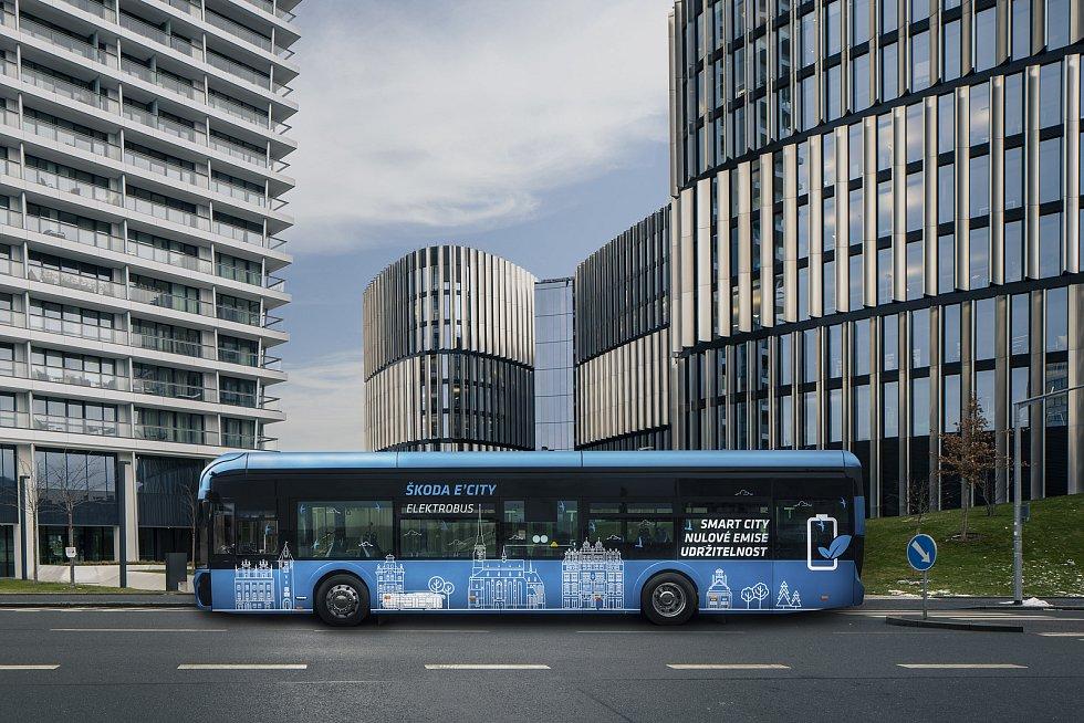 Plzeň pošle do Prahy nové elektrobusy, Škoda Transportation jich vyrobí čtrnáct.