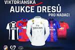 FC Viktoria vydraží dresy týmů z UEFA Champions League.