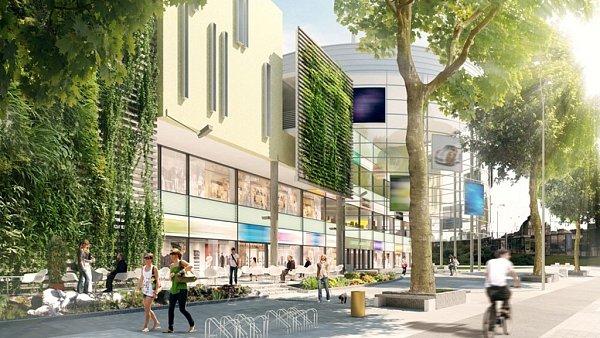 Vizualizace obchodního centra Corso Americká