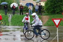 Dopravní soutěž mladých cyklistů ve Vejprnicích