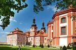 Areál bývalého proboštství Mariánská Týnice, dnes sídlo Muzea a galerie severního Plzeňska.
