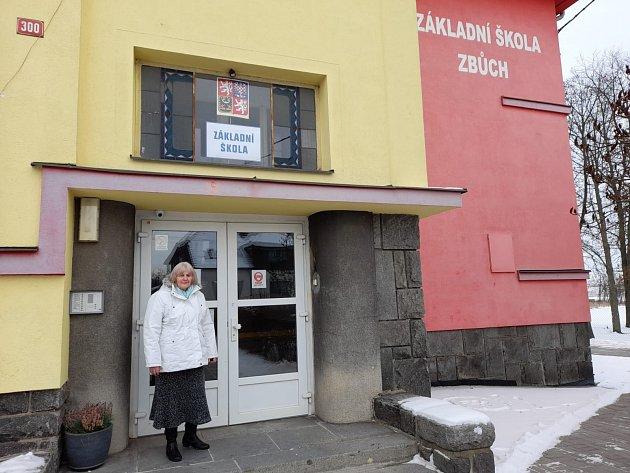 Eva Rádlová ze Zbůchu strávila za katedrou neuvěřitelných 50let svého života.
