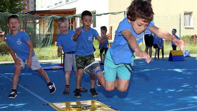 Plzenští předškoláci i letos soutěží při Sportovních hrách mateřských škol.