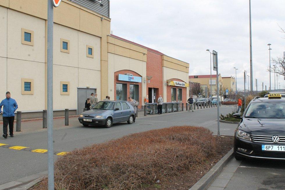 Plzeňská Olympia byla v sobotu dopoledne téměř bez lidí