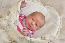 Veronika Šípová z Hejné se narodila ve strakonické porodnici 10. května v 8:21 hodin s váhou 2930 gramů.