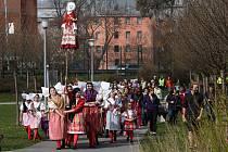 Vynášení Morany v Plzni 2019