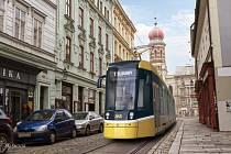 Tramvaj vyvíjí Škoda Transportation.