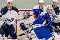 Archivní snímek ze zápasu základní části EUHL.