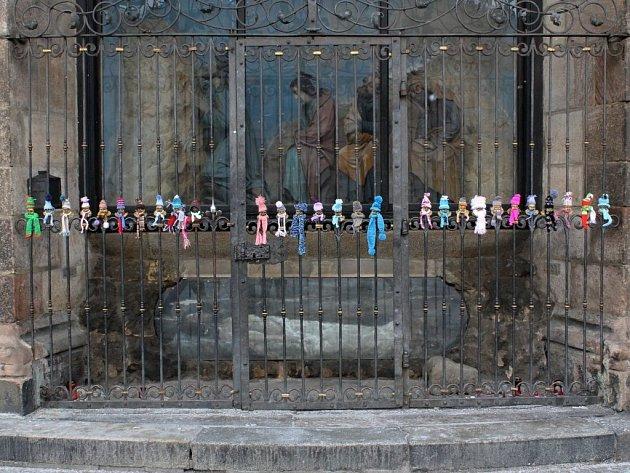 Andělíčci na náměstí Republiky