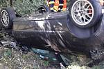 Vážná dopravní nehoda u Letkova.