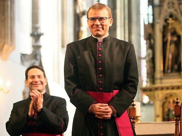 Nový plzeňský biskup Tomáš Holub