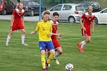SENCO Doubravka (žlutí) vs. Petřín Plzeň (červení)