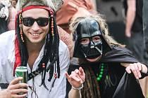 Sobotní protest Freeday 2016 - Pilsen carneval street party