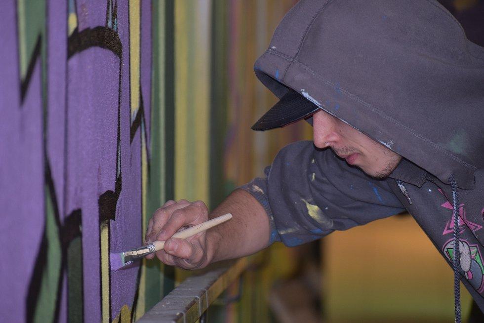 Plzeňští tvůrci graffiti.