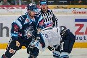 Utkání 25. kola Tipsport extraligy ledního hokeje.