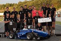 Plzeňští vysokoškoláci vybojovali na italském okruhu Riccardo Paletti čtvrté místo.